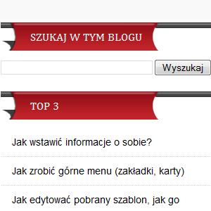 Jak dodać wyszukiwanie, czyli wyszukiwarka na blogu blogspot