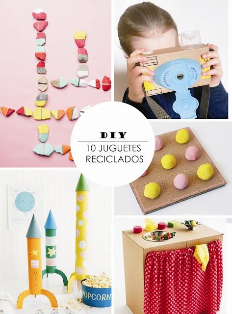 Y un poco de dise o 10 juguetes reciclados para hacer con - Ideas para porras ...
