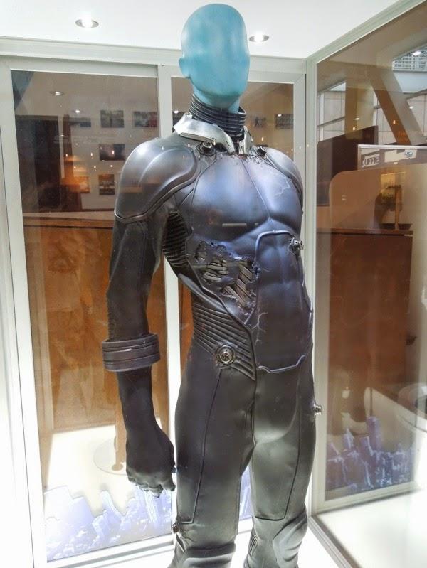 Electro movie costume Amazing Spider-man 2