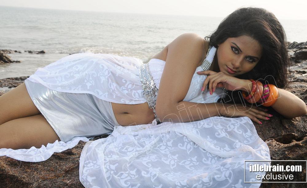 Rachana mourya hot photoshoot at beach