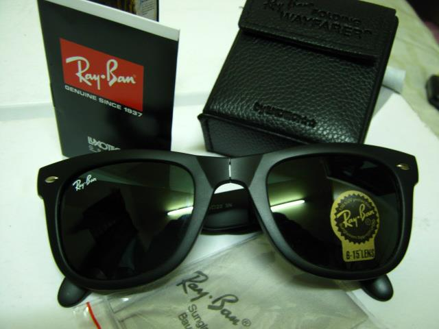 black ray ban wayfarer black lens  YOUR RAY BAN SHOP: Ray Ban Wayfarer Folding 4105 [RM90]