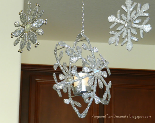 Anyone can decorate december 2012 this finished candle ornament chandelier is so sparkly and pretty i love it mozeypictures Image collections