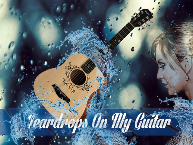 Teardrops On My Guitar - Taylor Swift | Music Letter Notation with ...