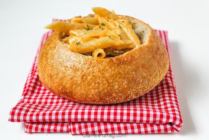 Pasta bowl recipe