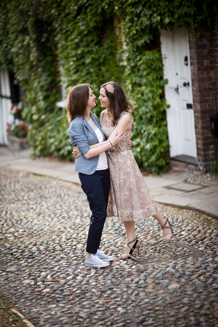 Civil partnership wedding photos
