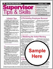 SUPERVISOR TIPS NEWSLETTER