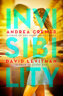 Review of Invisibility by Andrea Cremer and David Levithan
