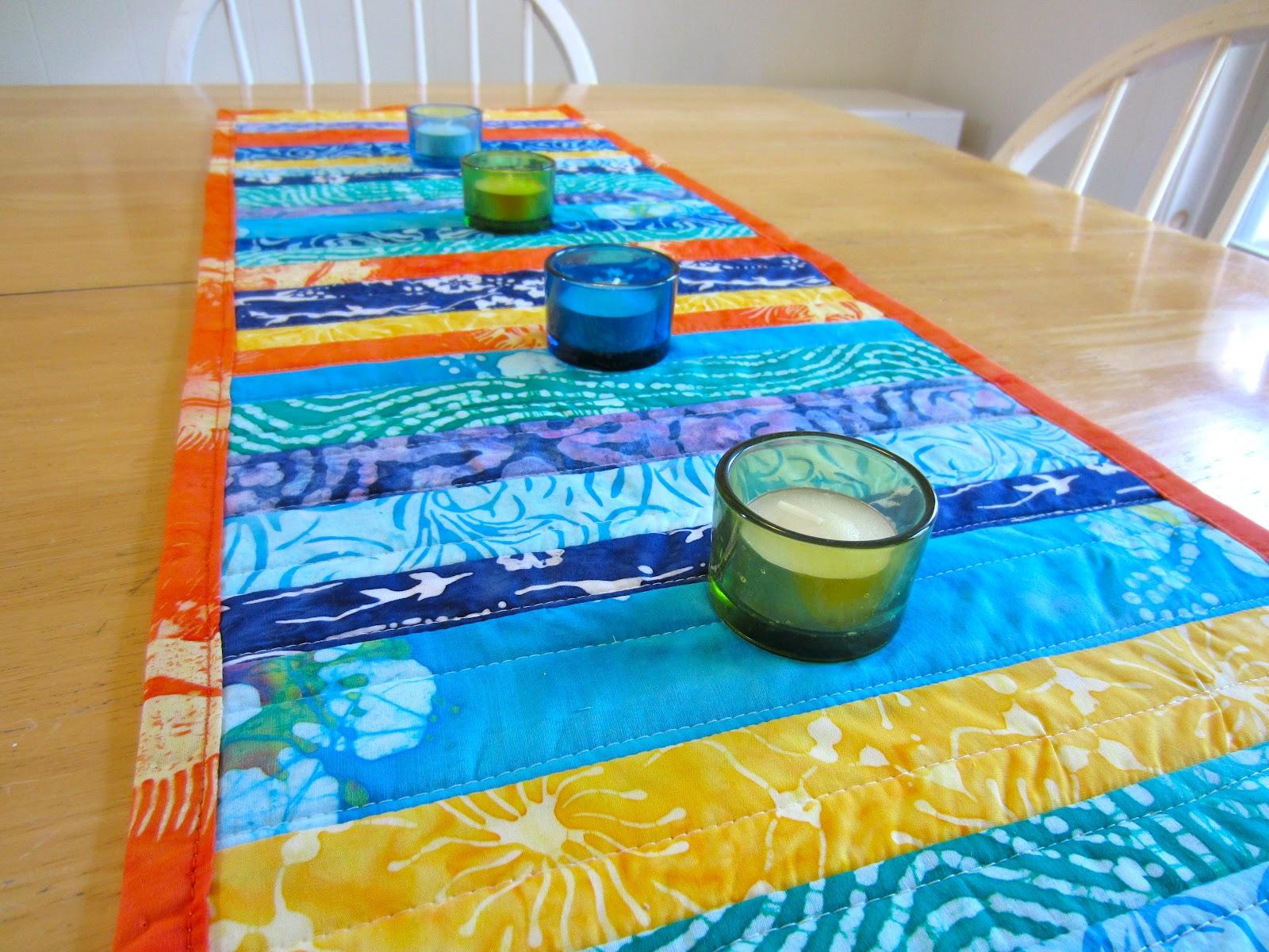 Superb Tropical Table Runner