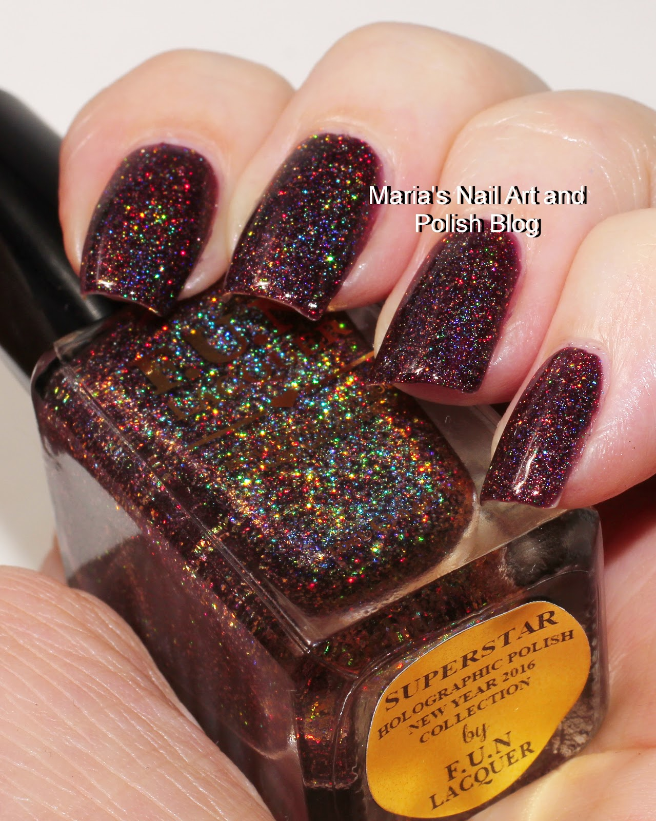 Alannaga: F.U.N Lacquer Superstar swatches