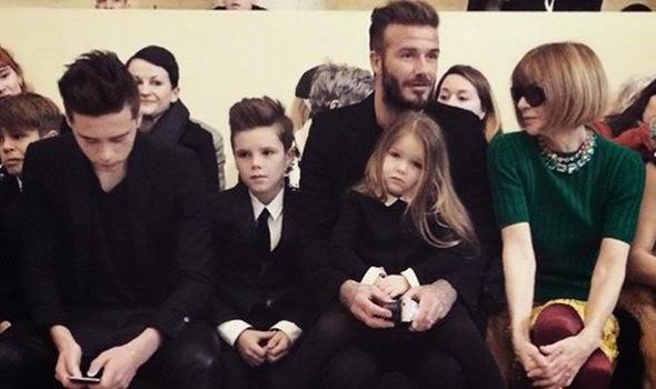 Wear It Like Beckham: David Beckham wears Harper Beckham # ...