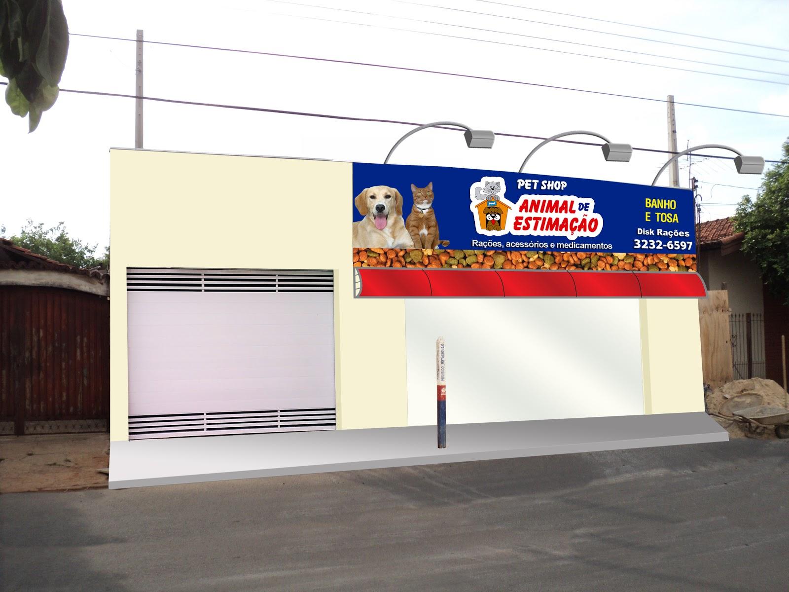 Well-known Pet Shop Animal de Estimação | Portfólio Leticia Cunha OB72