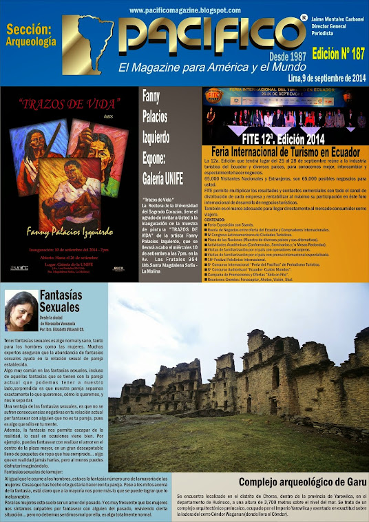 Revista Pacífico Nº  187 Arqueología
