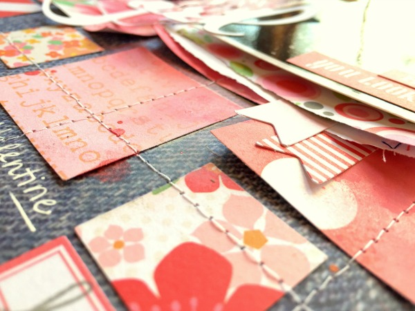 Missy Whidden Chickaniddy Crafts  Pinterest Layout close-up