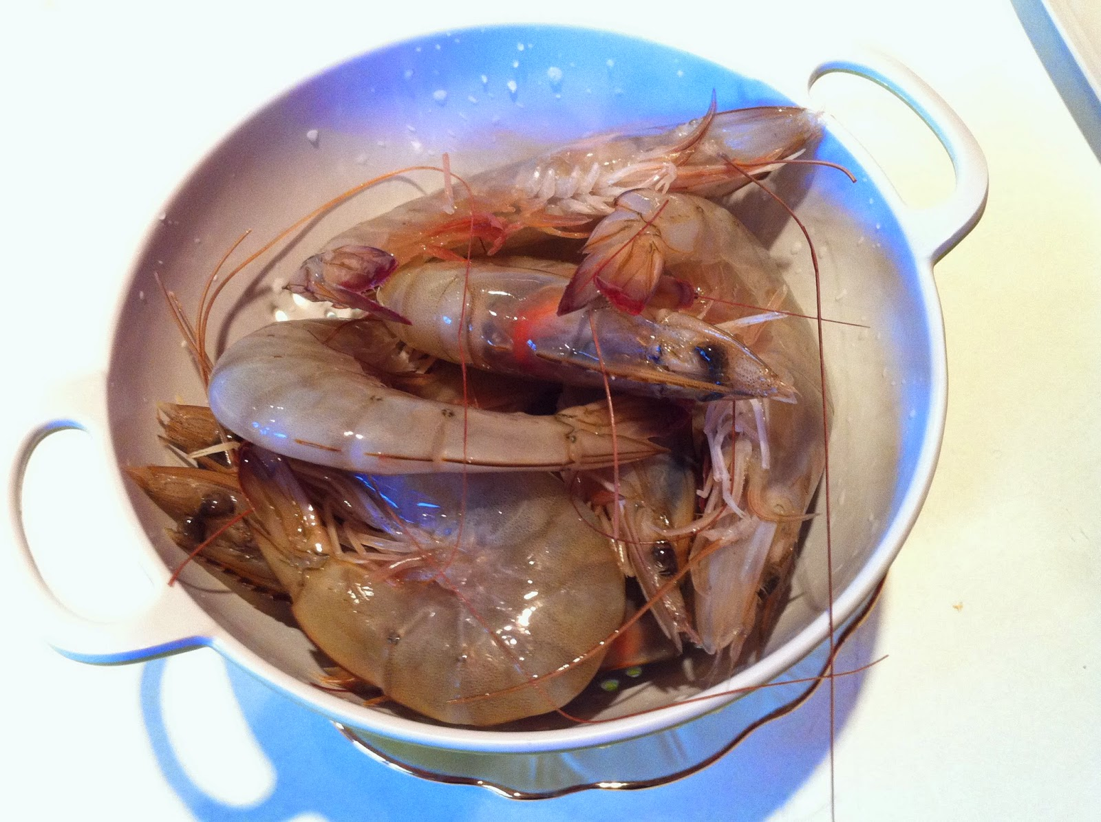 how to cook tiger prawns without shell