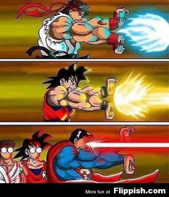Goku vs Superman Memes