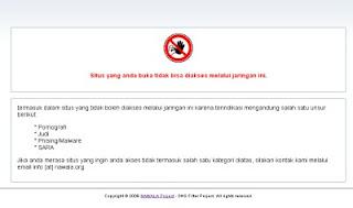 Cara Memblokir Situs Negatif dengan DNS Nawala