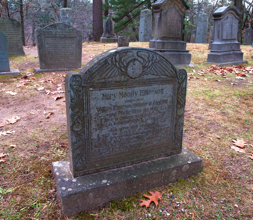 North American Cemeteries: Sleepy Hollow Cemetery, Concord, MA