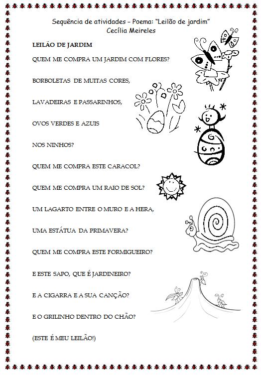 Poemas De Cecilia Meireles~ Rosas No Jardim Poema
