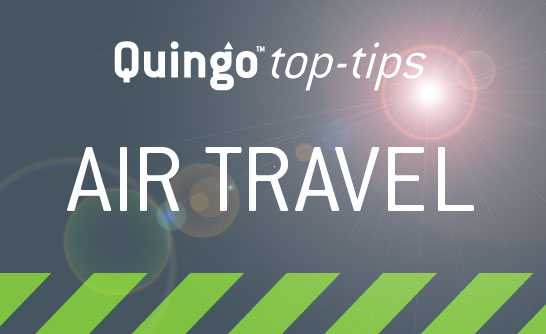 Quingo Top Tips: Air Travel