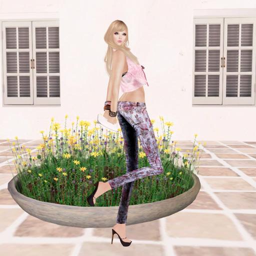 .::FLG::. My Favorite Jeans - Roses -