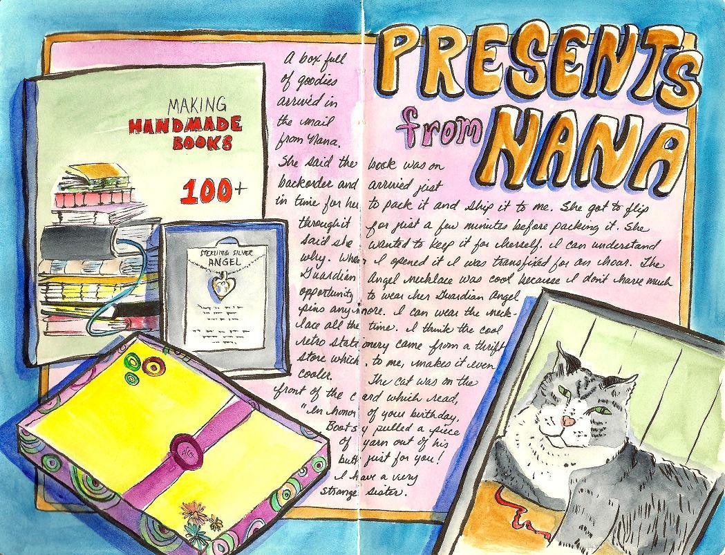 speck s sketch blog presents from nana