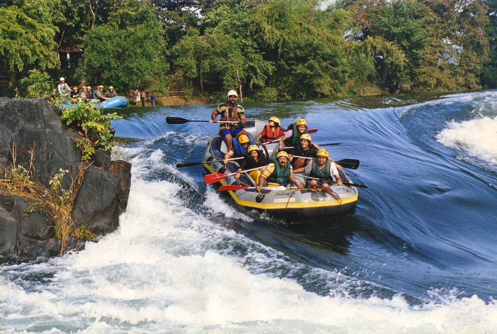 river water rafting in goa