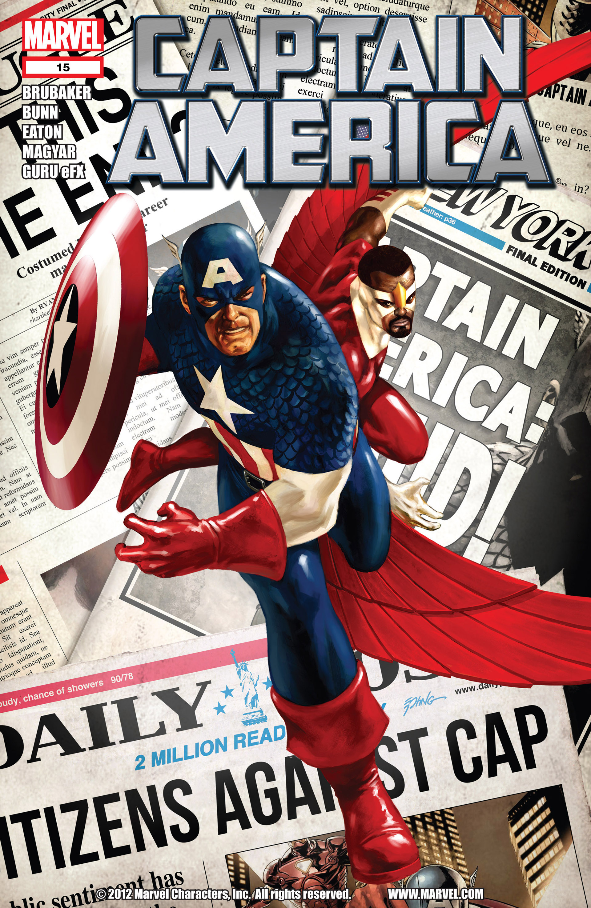 Captain America (2011) Issue #15 #15 - English 1