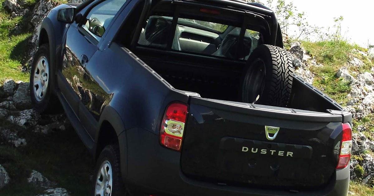 Renault Duster Pick-up será mostrada no Salão de SP