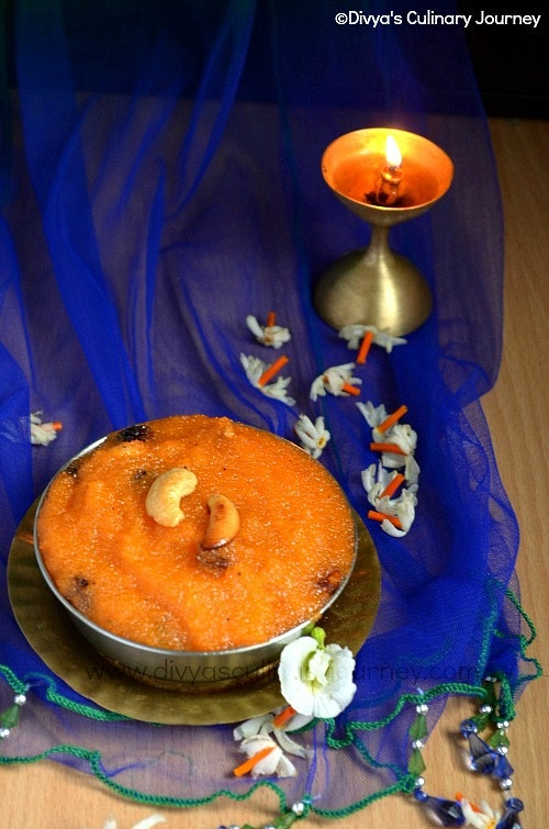 Perfect rava kesari