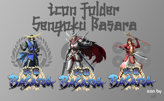 Download icon folder sengoku basara