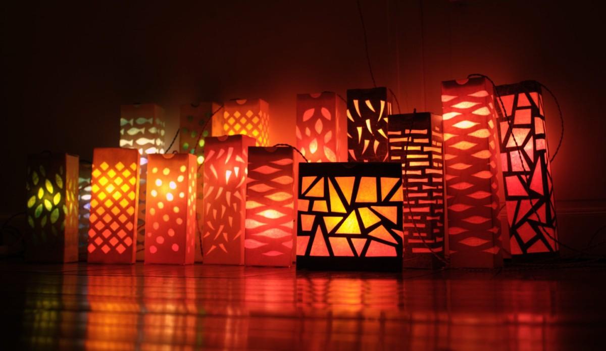 les 16 lampions du boulanger. Black Bedroom Furniture Sets. Home Design Ideas