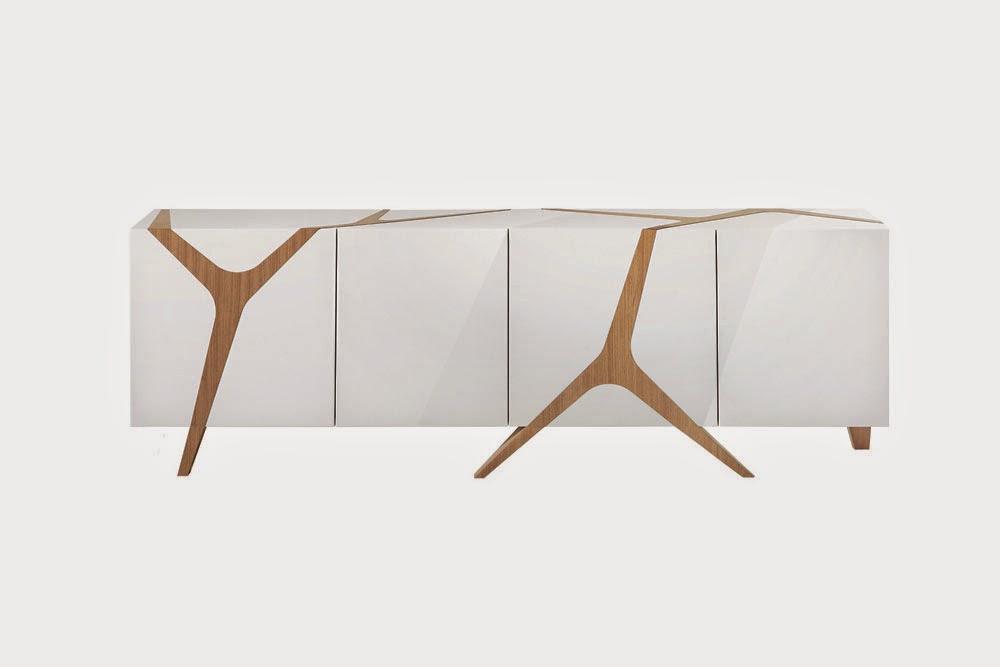 Darya girina interior design branches and trunks in - Tables de chevet roche bobois ...