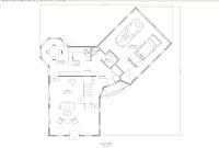 planos de vivienda americana con garaje primer piso