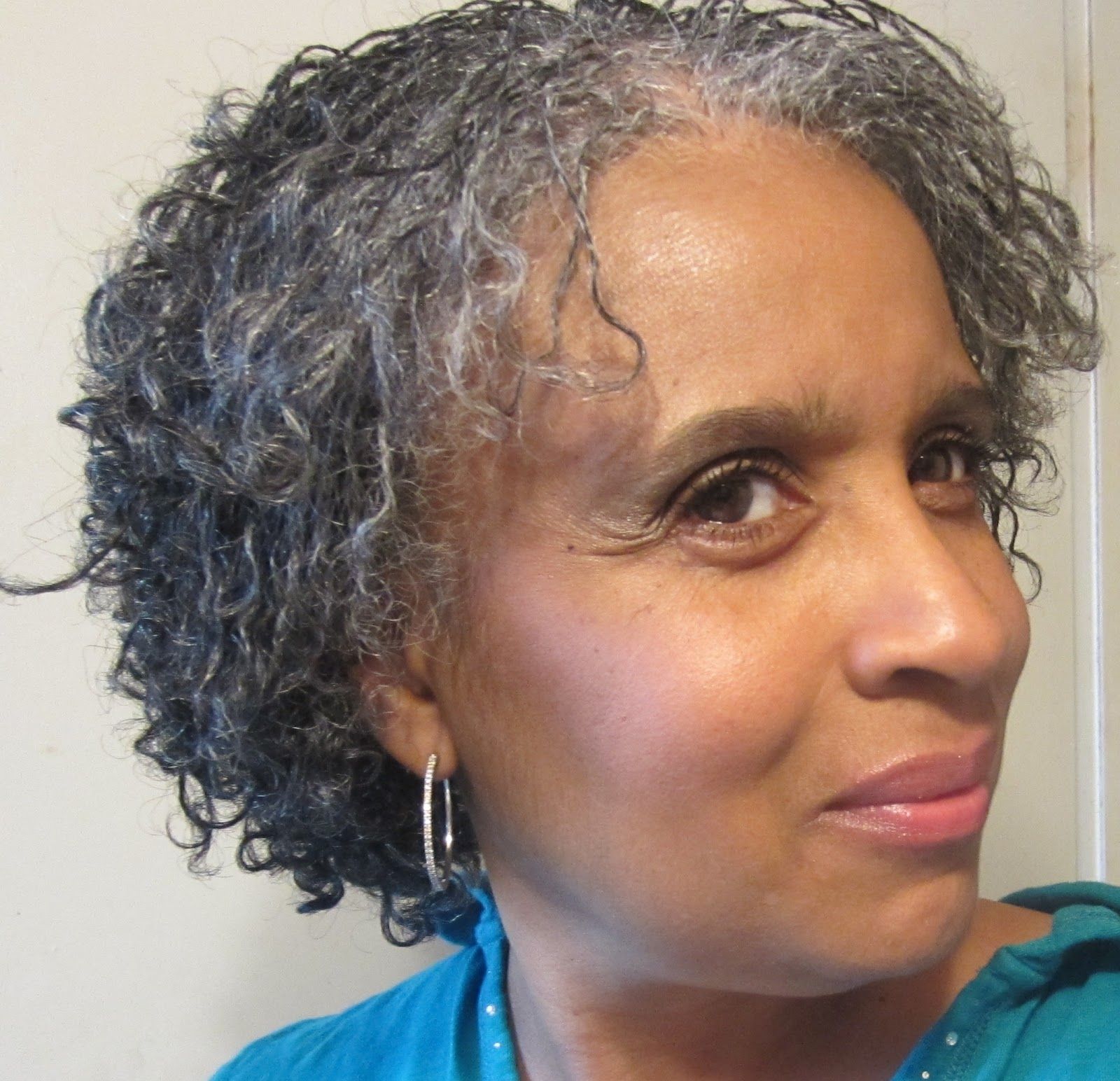 GOING GRAY NATURALLY MY FAVORITE NATURAL HAIR STYLEMINI TWO