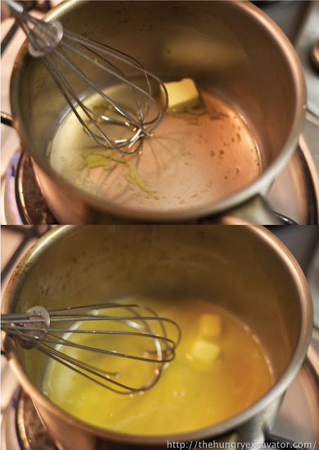 how to make beurre blanc