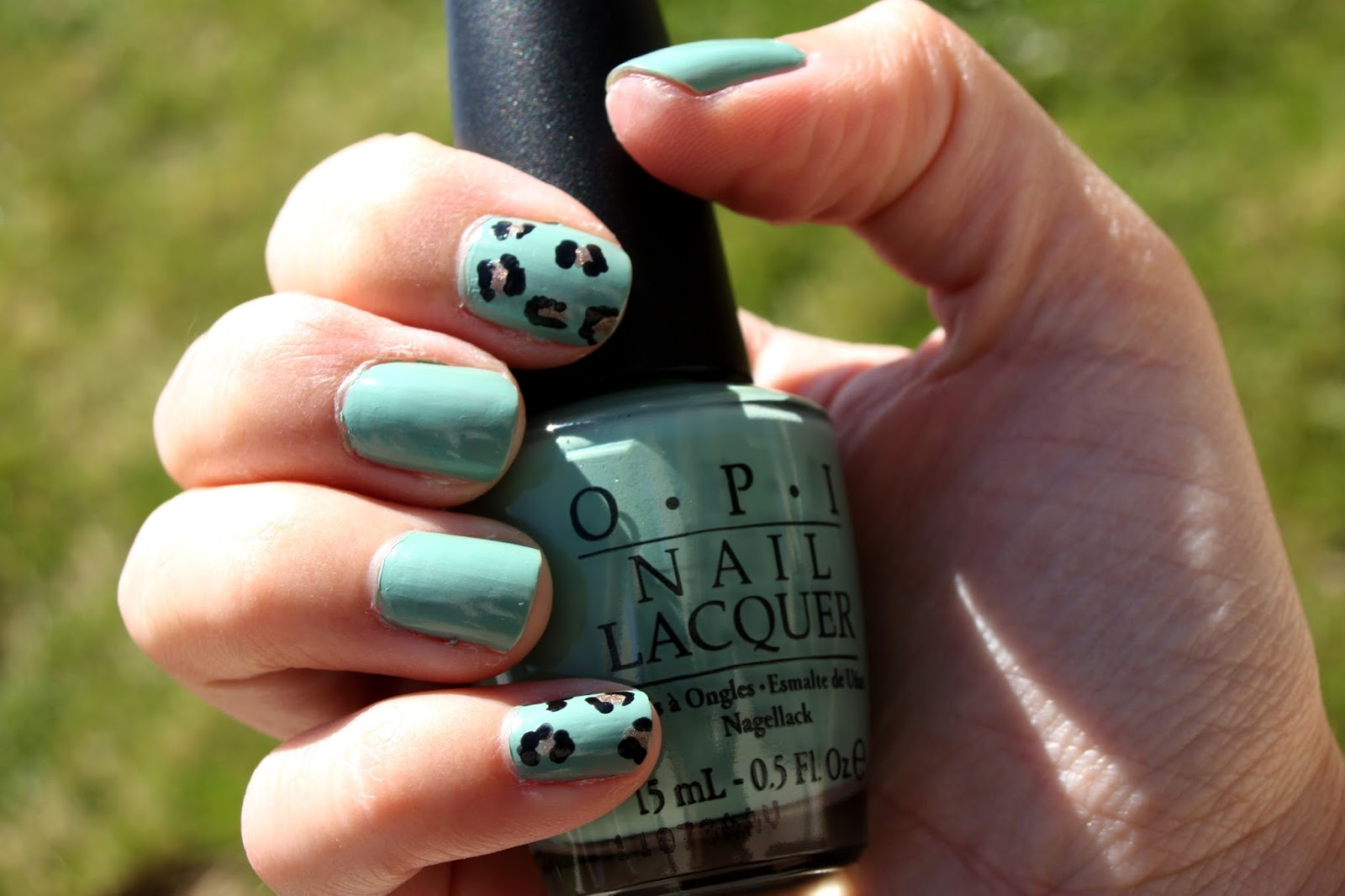 Make Up By Linoa Opi Mermaid S Tears Amp Leopard Prints