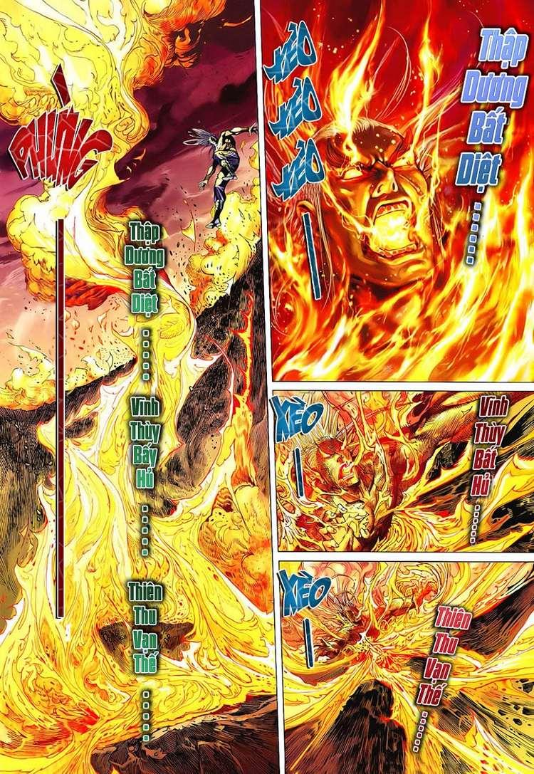 Hỏa Vân Tà Thần II chap 100 Trang 21 - Mangak.info