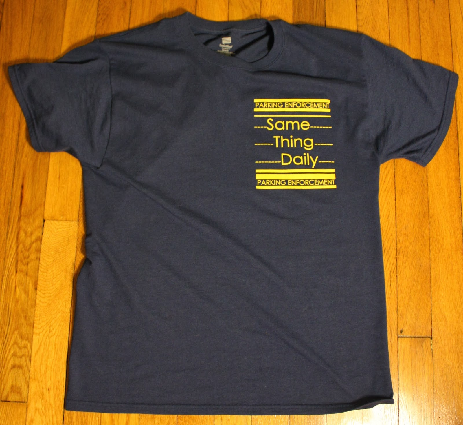 Parking Enforcement Tshirt