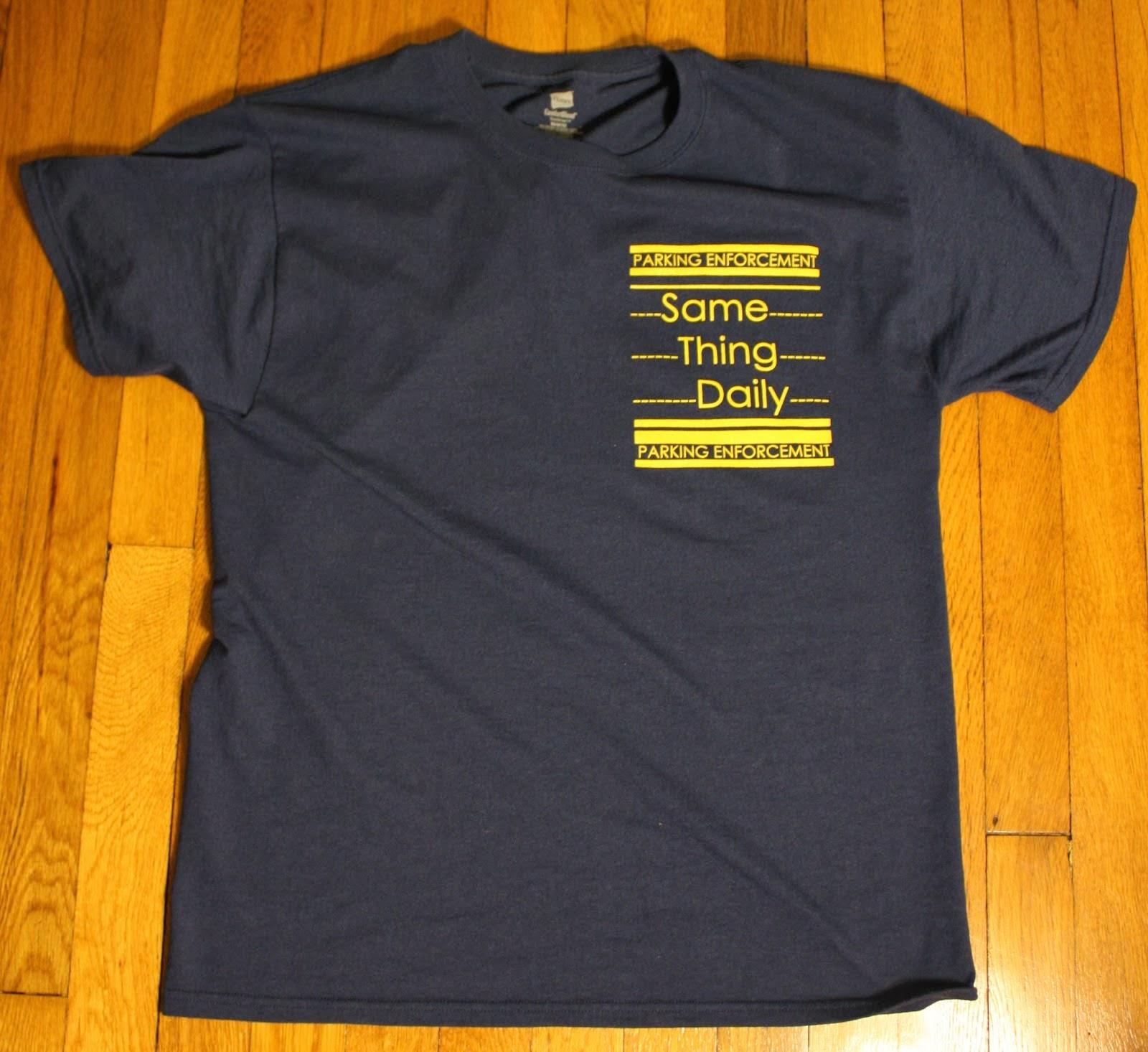Parking Enforcement Tshirt