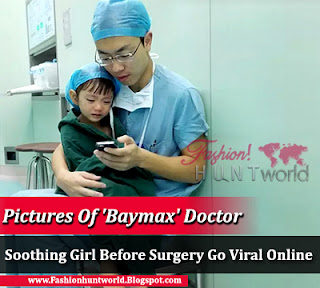 'Baymax' Doctor Comforts His 2-Year-Old Patient As She Starts To Get Scared Before Surgery