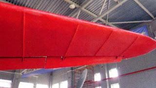 Законцовка левой консоли крыла АНТ 25