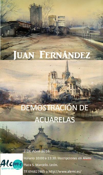 DEMOSTRACIÓN DE ACUARELA