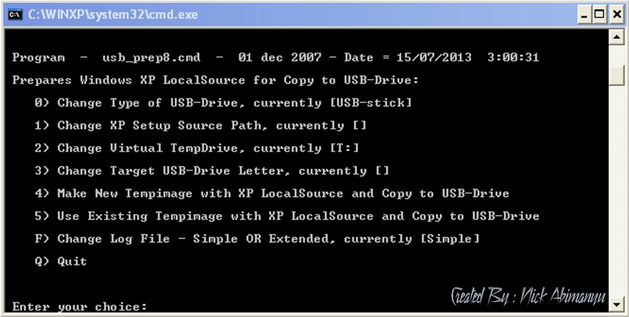 ... Instal Ulang NOTEBOOK / LAPTOP / PC dengan KARTU MEMORI / MEMORY CARD