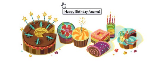 google ucap birthday Happy Birthday Sweet 27