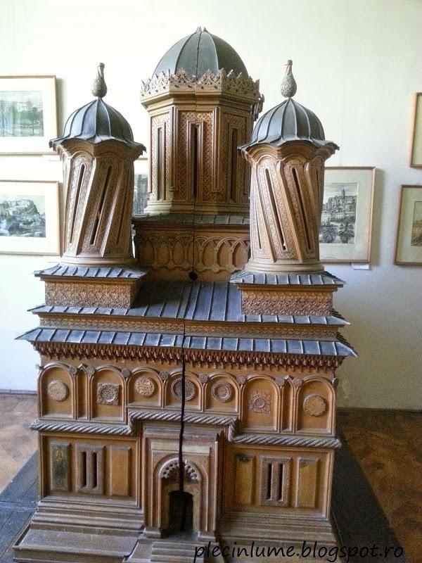 Macheta a manastirii Curtea de Arges, Karl Storck
