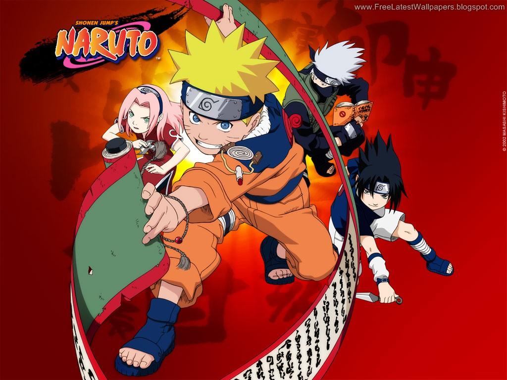 Team Kakashi Naruto Sasuke Sakura Naruto Wallpapers