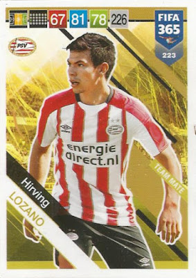 Hirving Lozano PSV Eindhoven Sticker 269 a//b Panini FIFA365 2019