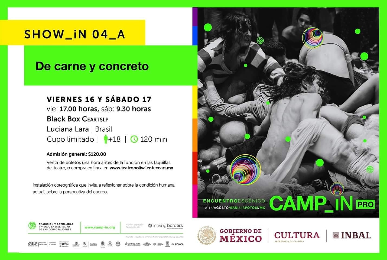 De Carne e Concreto no CAMP_iN no México