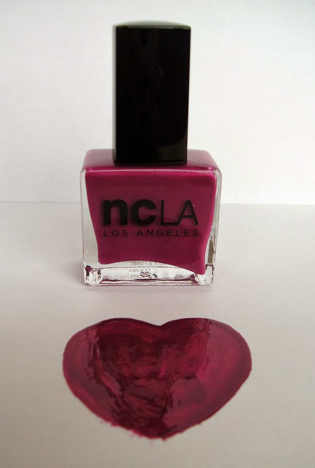 ncLA Nail Lacquer - Nail Lacquer Laurel Canyon Lolita - Swatch