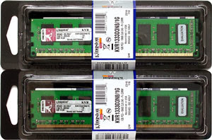 Memória RAM Kingston - 300x198
